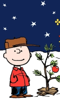 Charlie Brown and tree