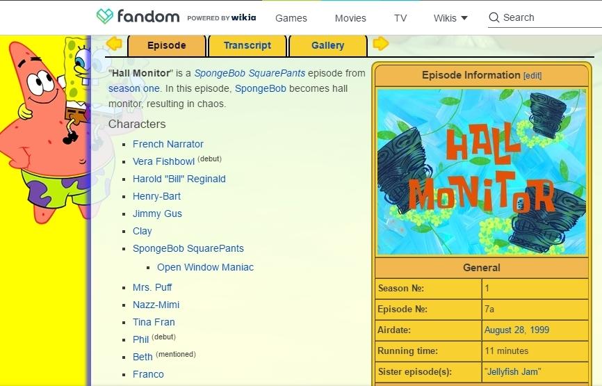 SpongeBob Squarepants – Chaotic Zen, A' la Carte